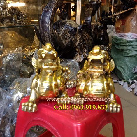 langngheducdong.vn - tỳ hưu phong thủy, tỳ hưu bằng đồng, vật phẩm phong thủy bằng đồng