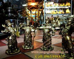 langngeducdong.vn - bộ tượng đồng, tứ đại thiên vương, tượng thờ bằng đồng