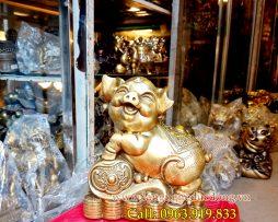 langngheducdong.vn - tượng phong thủy, lơn đồng phong thủy, mẫu tượng lợn bằng đồng