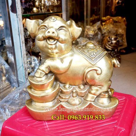 langngheducdong.vn - tượng phong thủy, tượng bằng đồng, tượng heo đồng