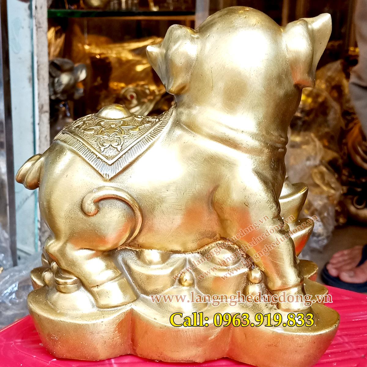 langngheducdong.vn - tượng đồng, tượng heo đồng, tượng đồng phong thủy, heo bằng đồng