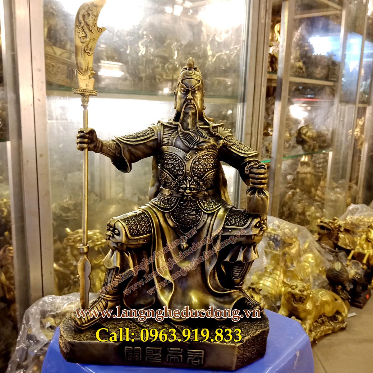 langngheducdong.vn - tượng đồng, tượng phong thủy, tượng quan công