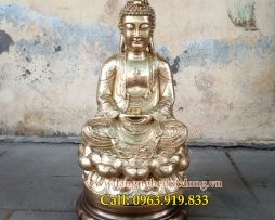 langngheducdong.vn - tượng đồng thờ cúng, tượng phật bằng đồng vàng, tượng phật, tượng đồng