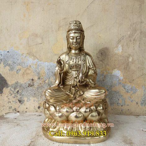 langngheducdong.vn - tượng phật, tượng quan âm, tượng thờ cúng bằng đồng, phật bà quan âm
