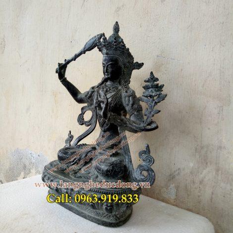 langngheducdong.vn - tượng phật, tượng đồng, tượng thờ bằng đồng, tượng văn thù phổ hiền bồ tát