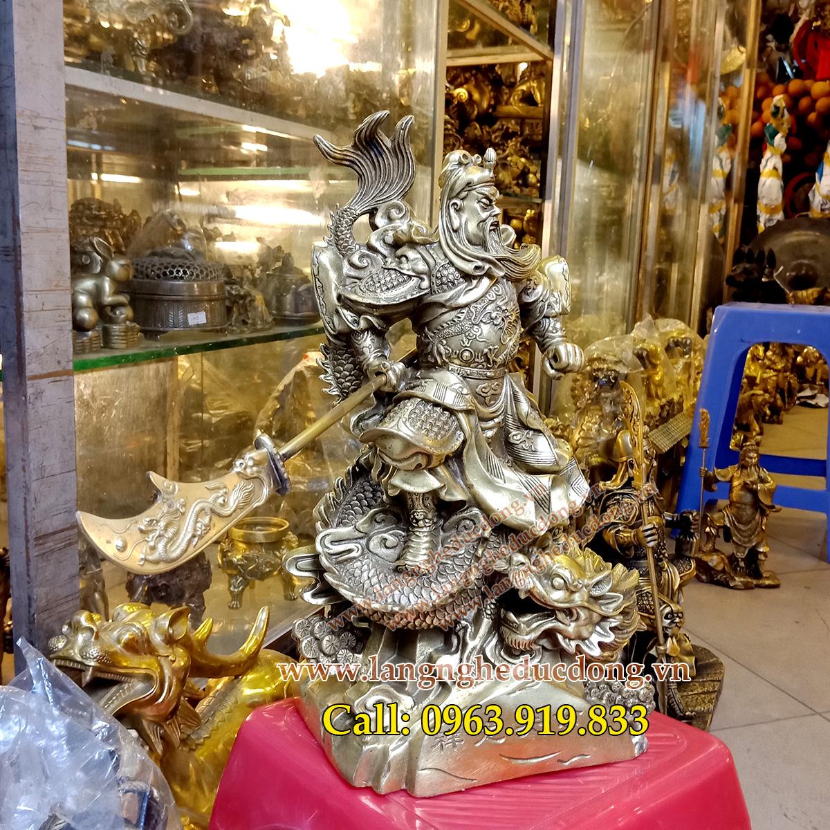 langngheducdong.vn - tượng quan công, tượng quan vân trường, mẫu tượng quan công bằng đồng