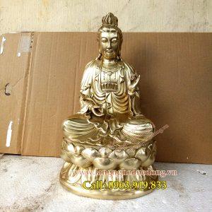 langngheducdong.vn - tượng phật, tượng đồng, tượng thờ bằng đồng, tượng đại thế chí bồ tát bằng đồng