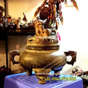 langngheducdong.vn - đồ thờ cúng, đỉnh xông trầm, đỉnh giả cổ