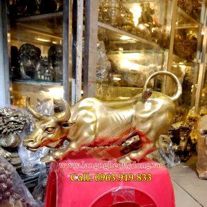 langngheducdong.vn - trâu phong thủy, trâu bằng đồng, tượng trâu đồng, tượng trâu phong thủy