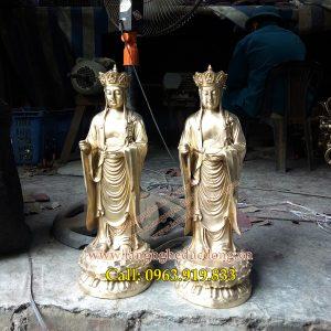langngheducdong.vn - tượng phật, tượng đồng, tượng thờ bằng đồng, tượng địa tạng bằng đồng vàng