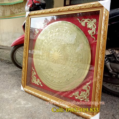 langngheducdong.vn - trống đồng, mặt trống đồng, mặt trống trang trí bằng đồng