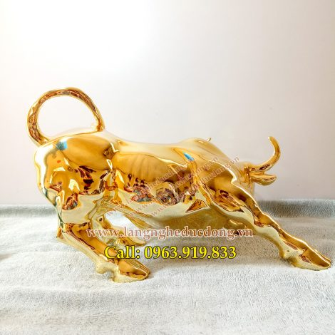 langngheducdong.vn - trâu đồng, trâu mạ vàng, trâu phong thủy, tượng trâu trang trí, tượng trâu bằng đồng
