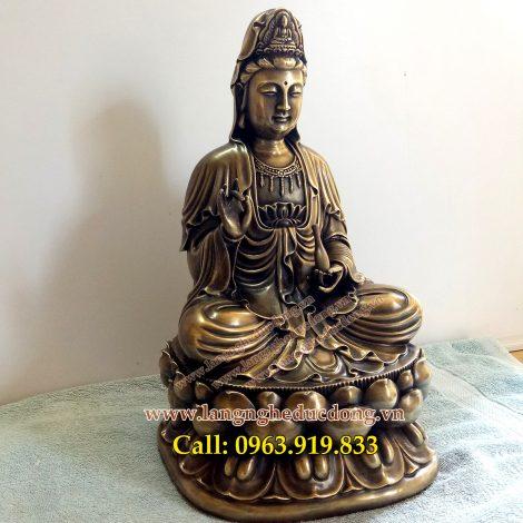 langngheducdong.vn - tượng đồng, tượng quan âm bằng đồng, tượng quan âm thờ cúng