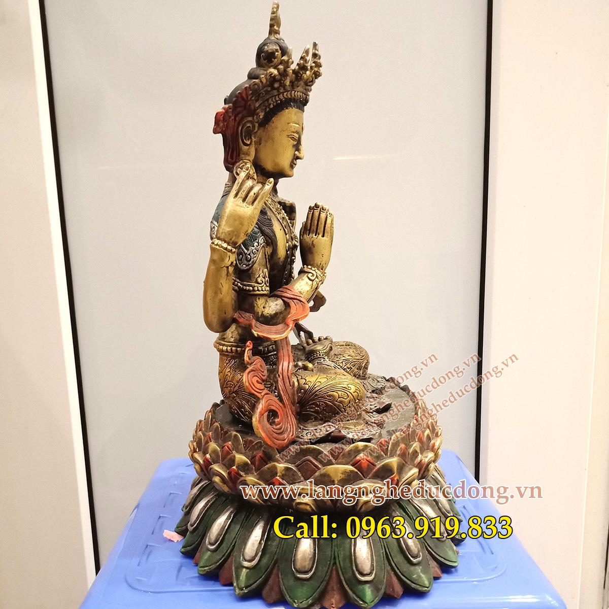 langngheducdong.vn - tượng đồng, tượng phật bằng đồng, tượng thờ cúng bằng đồng