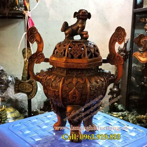 langngheducdong.vn - đồ đồng thờ cúng, đồ đồng giả cổ, đỉnh đốt trầm bằng đồng