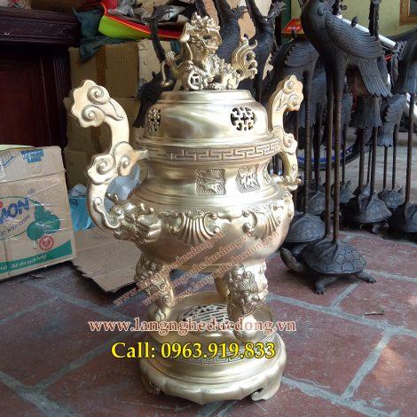 langngheducdong.vn - đỉnh đồng lư hương, bát hương lọ hoa, đồ thờ cúng bằng đồng