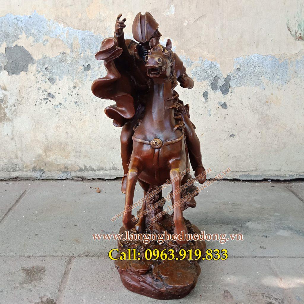 Tượng đồng nghệ thuật trang trí, tượng napoleon 42cm, bán tượng napoleon, giá tượng napoleon