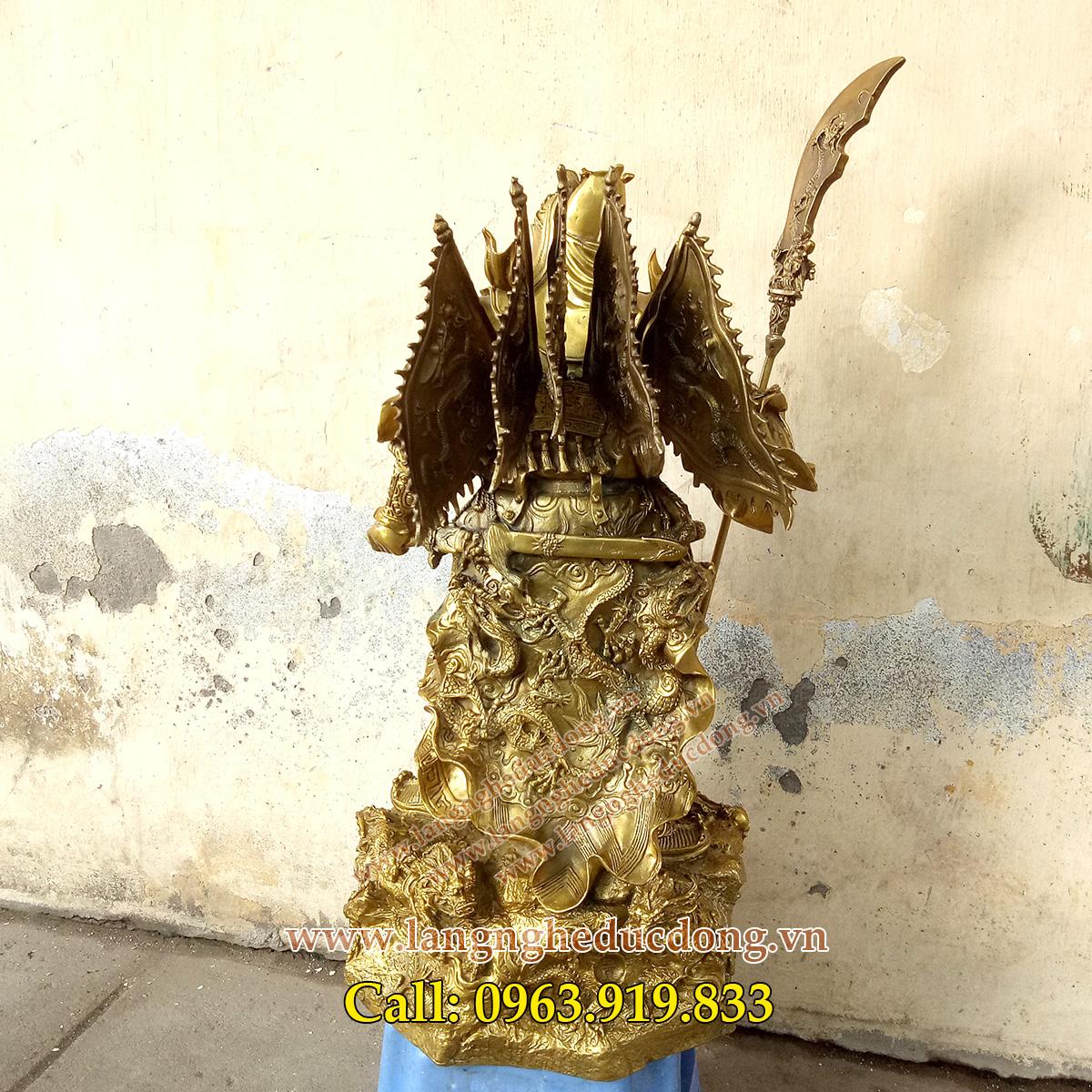 langngheducdong.vn - tượng đồng, tượng quan công, tượng quan vân trường, quan công đứng bệ rồng