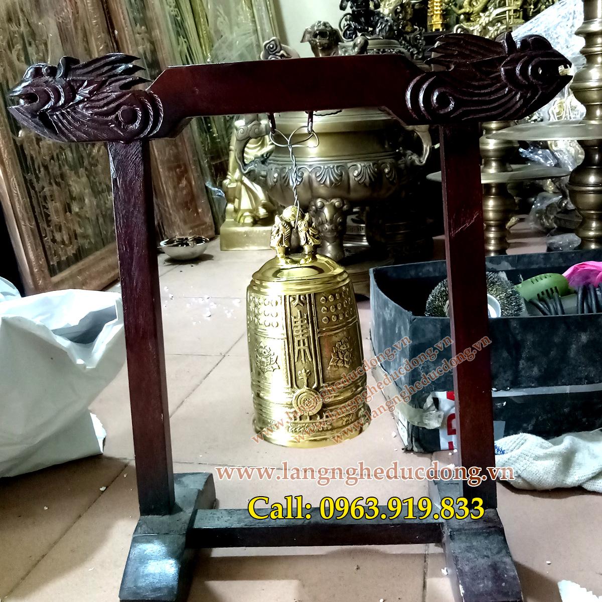 langngheducdong.vn - đồ thờ cúng, chuông đồng, chuông cúng bằng đồng