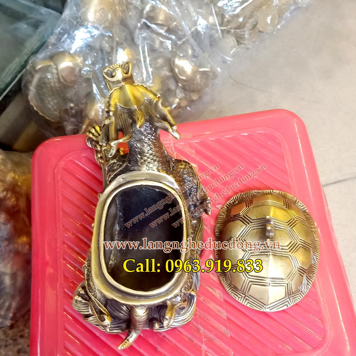langngheducdong.vn - rùa đồng, rùa phong thủy, vật phẩm phong thủy, đồ đồng phong thủy