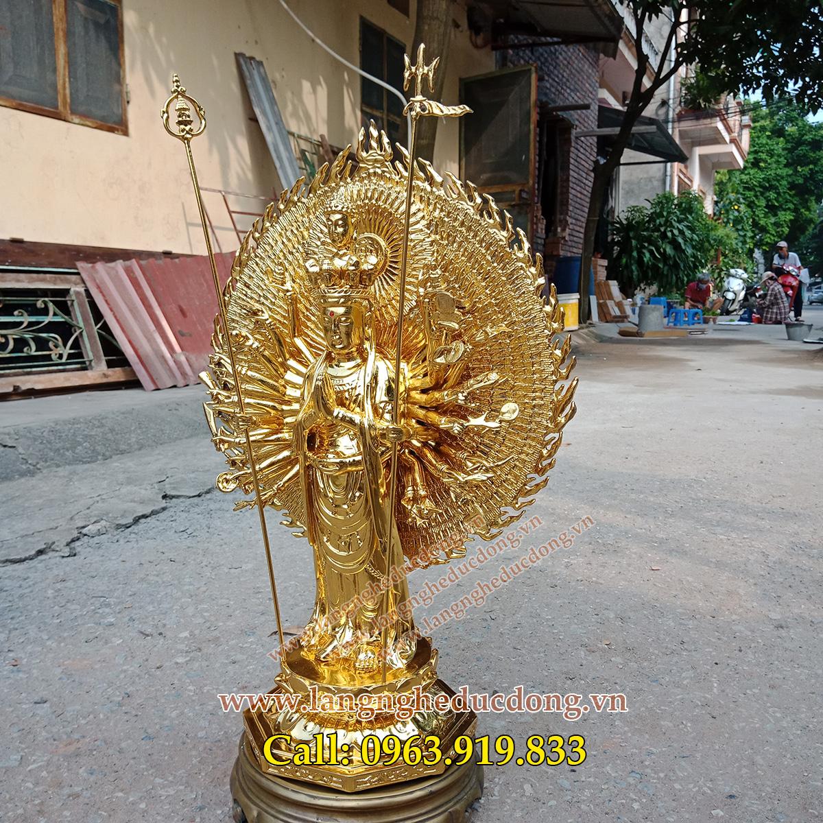 langngheducdong.vn - tượng phật, tượng phật dát vàng, tượng thiên thủ thiên nhãn bằng đồng