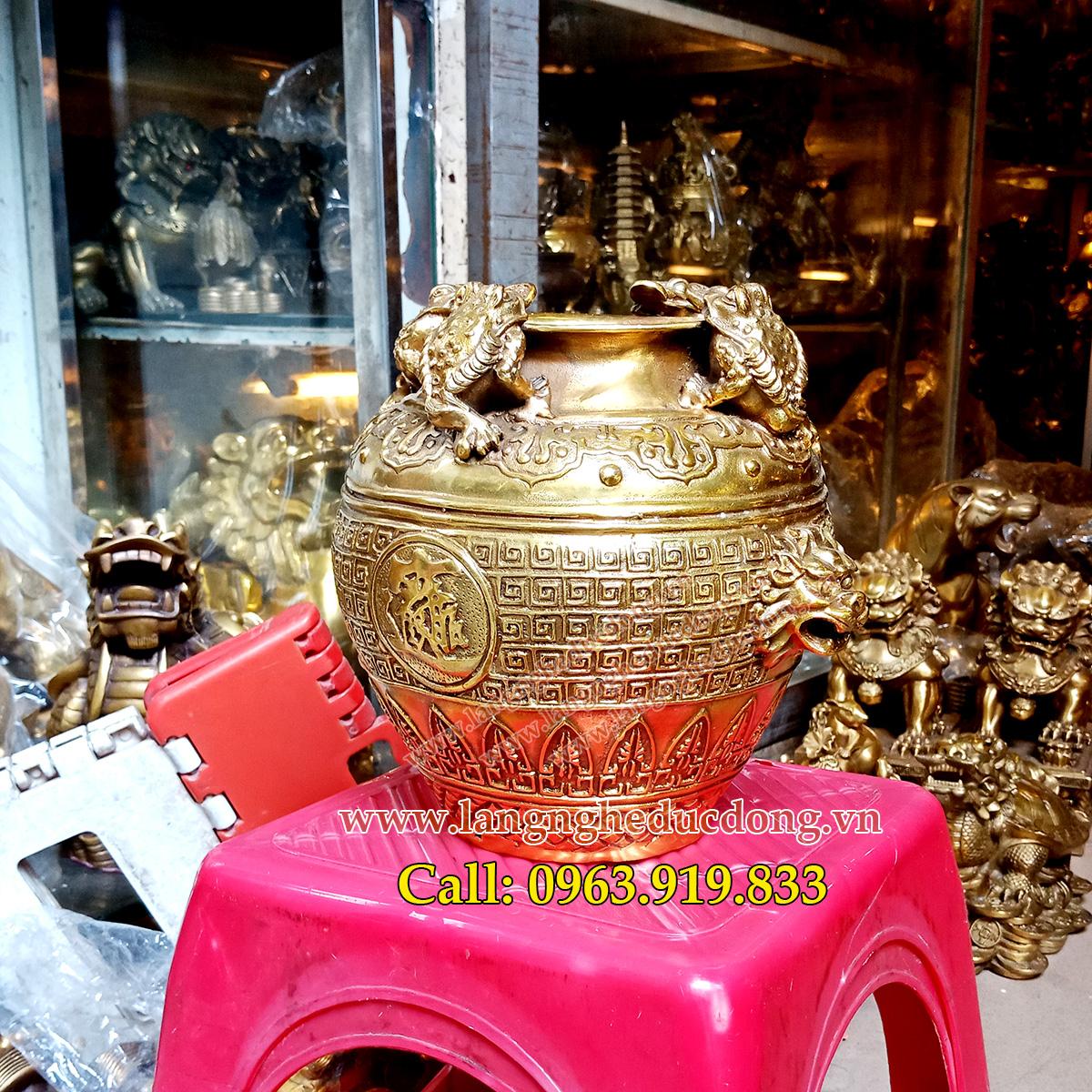 langngheducdong.vn - đồ đồng, đồ phong thủy bằng đồng, vật phẩm phong thủy bằng đồng