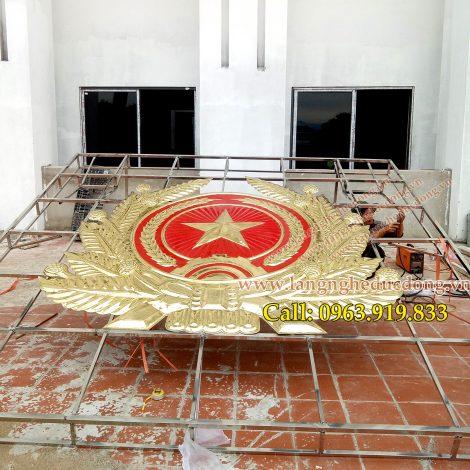 langngheducdong.vn - quân hiệu, huy hiệu quân đội, quốc huy, logo bằng đồng