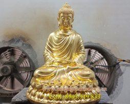 langngheducdong.vn - tượng phật dát vàng, tượng đồng dáu vàng