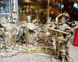langngheducdong.vn - tượng đồng, tượng tứ đại thiên vương, bộ tượng tứ đại thiên vương