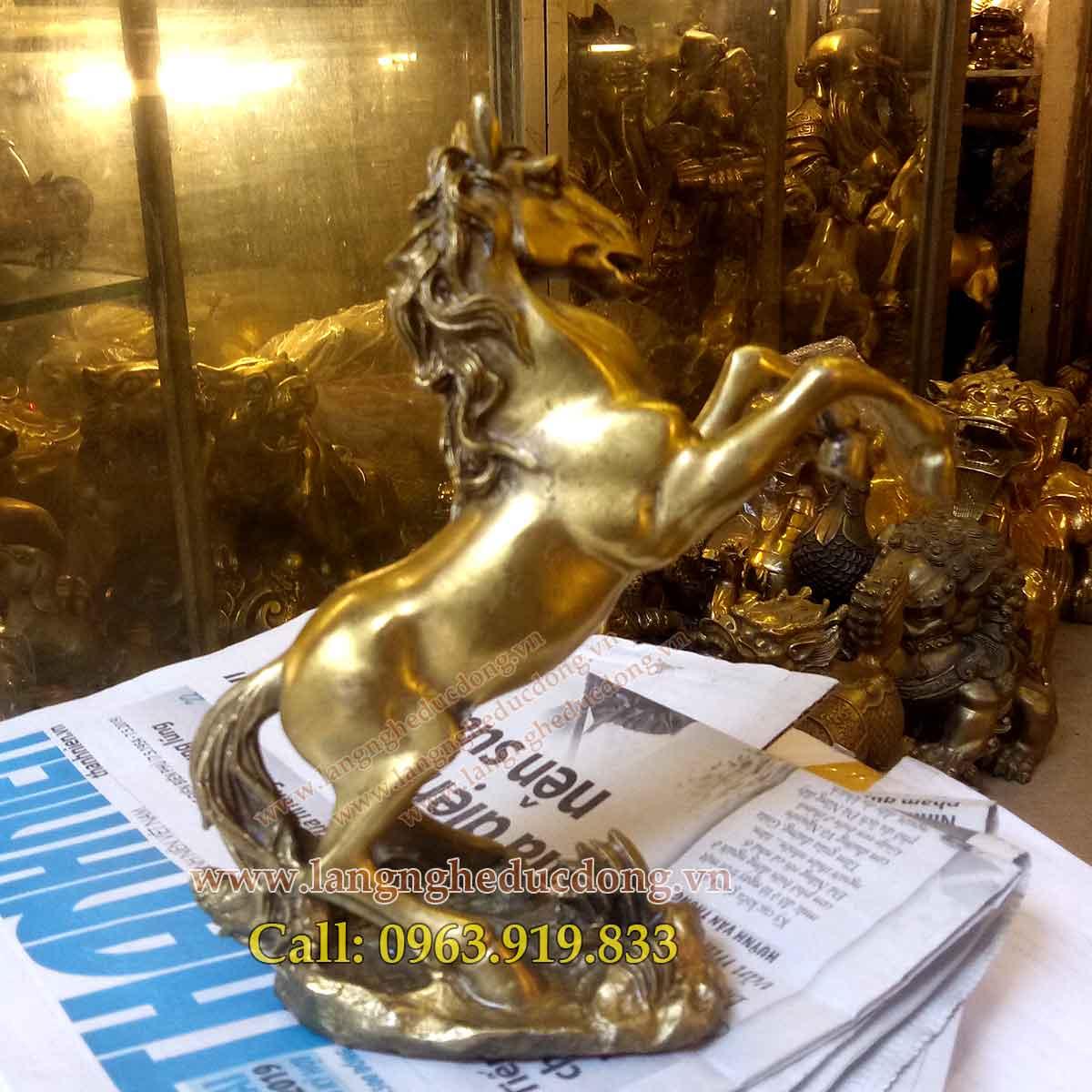 langngheducdong.vn - tượng đồng, tượng ngựa bằng đồng, mẫu tượng ngựa đồng
