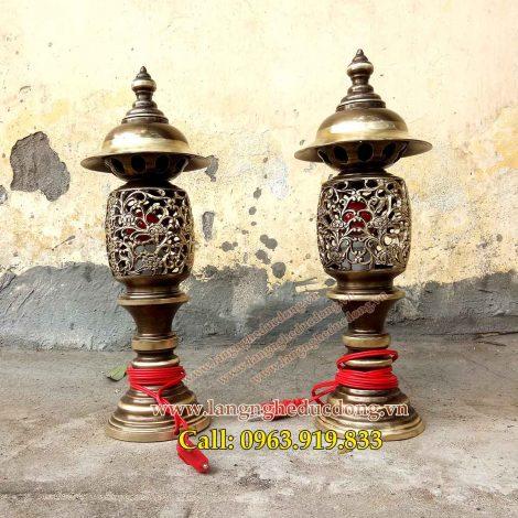 langngheducdong.vn - đèn thờ, đèn đồng, đèn thắp điện, đèn đồng giả cổ cạo màu