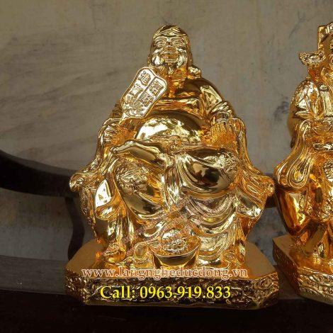 langngheducdong.vn – Tượng thần tài ông địa thổ địa 25cm, tượng đồng thàn tài, tượng đồng ông địa, tượng mạ vàng nano, mạ vàng nano