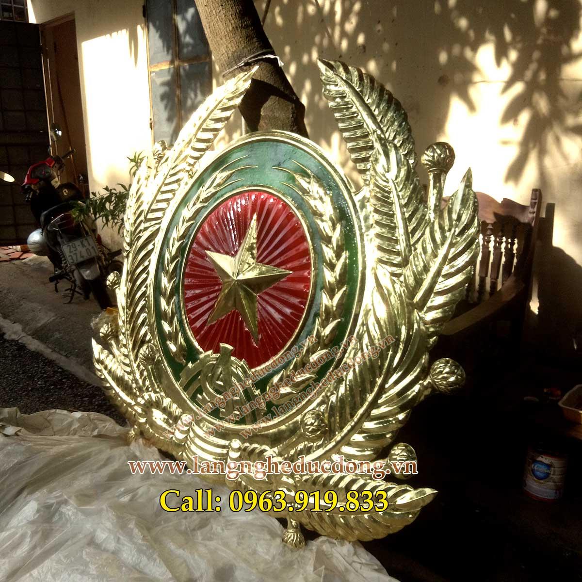 langngheducdong.vn - huy hiệu, quốc huy, logo công an, các kích thước huy hiệu công an bằng đồng